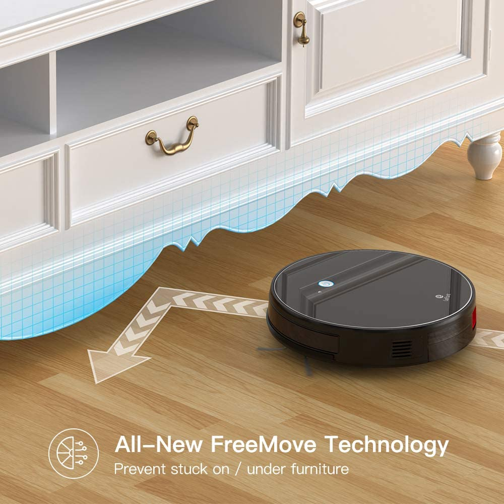 LEFANT Robot Vacuum, M520 Robotic Vacuums Cleaner